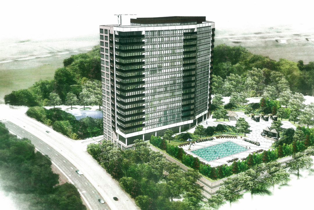 25 Story Apartment Building Proposed Overlooking Lake Greenbelt News Review