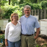 Therese and Jeffrey Forbes, owners of Honey Glow, photo by Lynn White