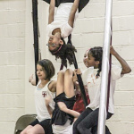 Circus Camp Upside Down.  Photo by Beverly  Palau