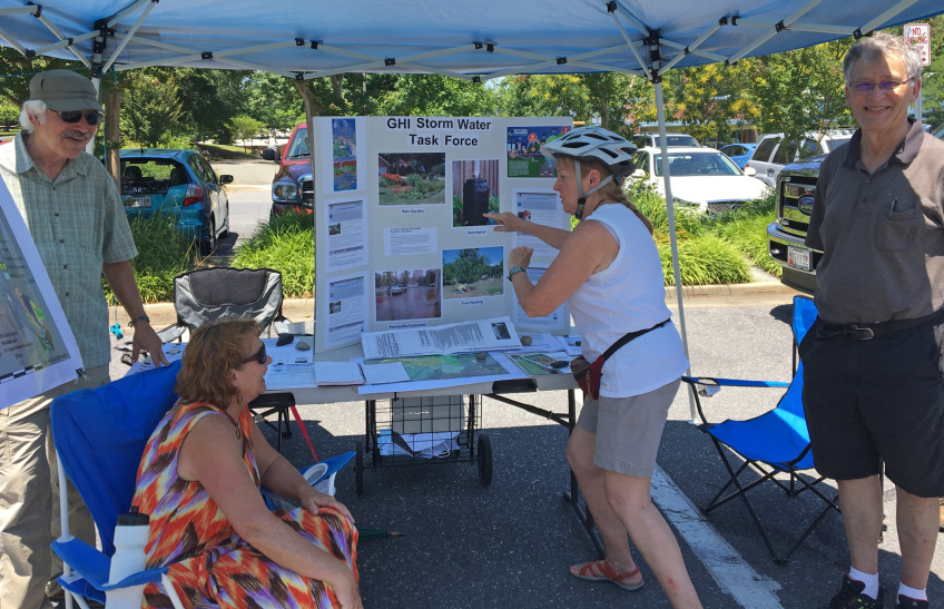 GHI Task Force Educates Public On Reducing Stormwater Runoff