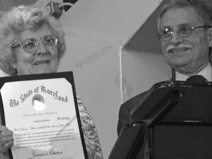 Barbara Likowski Was 2007's Outstanding Citizen