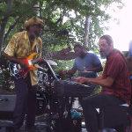 Greenbelt's Blues Festival Kevin Robinson & KERQ on stage.