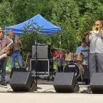 4 Tha Gruv performs their dance-friendly smooth jazz at Fairwood Park.   Photo courtesy of 4 Tha Gruv